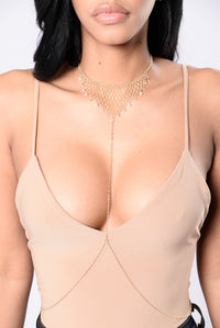 Cool It Down Body Chain - Gold