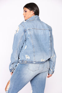 Concert Jacket - Light Denim