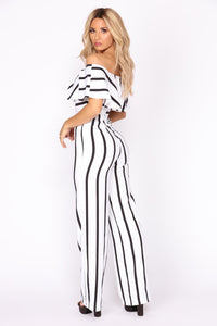 Girls Like Me Jumpsuit - Ivory