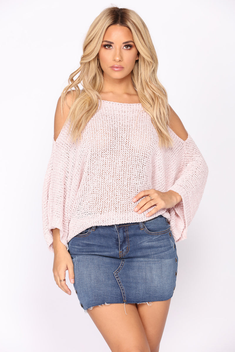 We Almost Had It Sweater - Pink
