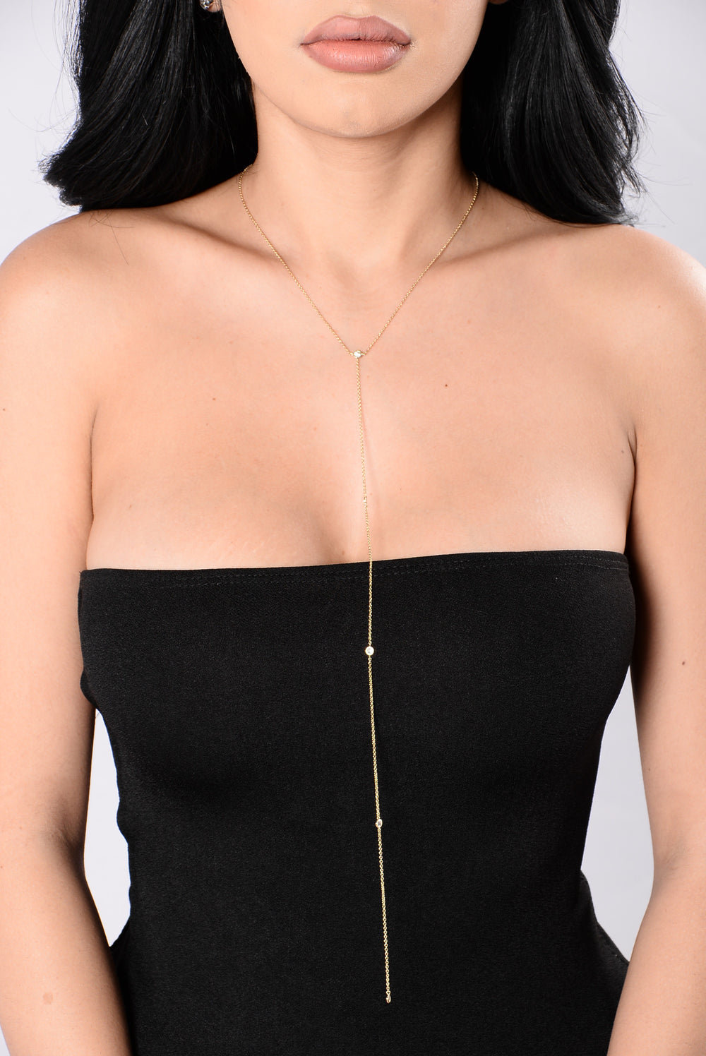 Lauren Dripping In Gold Necklace - Gold