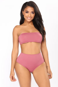 The Perfect Tan Bikini - Mauve