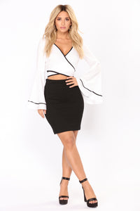 Bell The Truth Top - White/Black