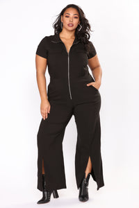 Boiling Point Jumpsuit - Black