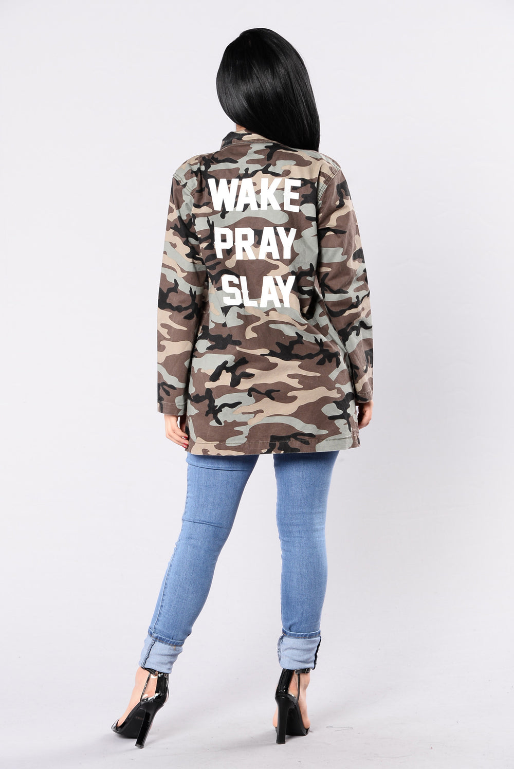 What We Do Jacket - Camo
