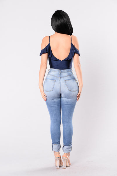 Smart Choice Bodysuit - Blue