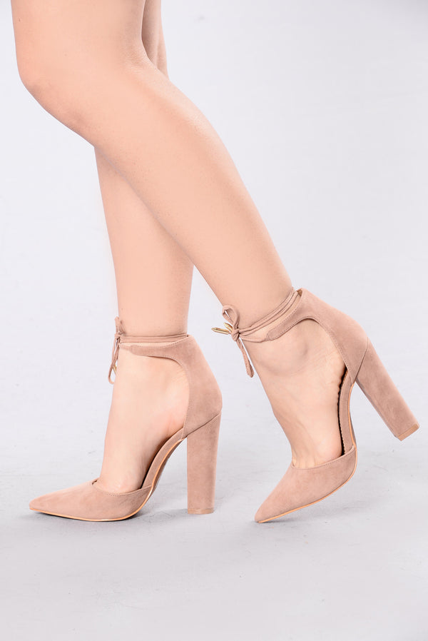 b99fdd0b0a Can't Say No Heel - Taupe