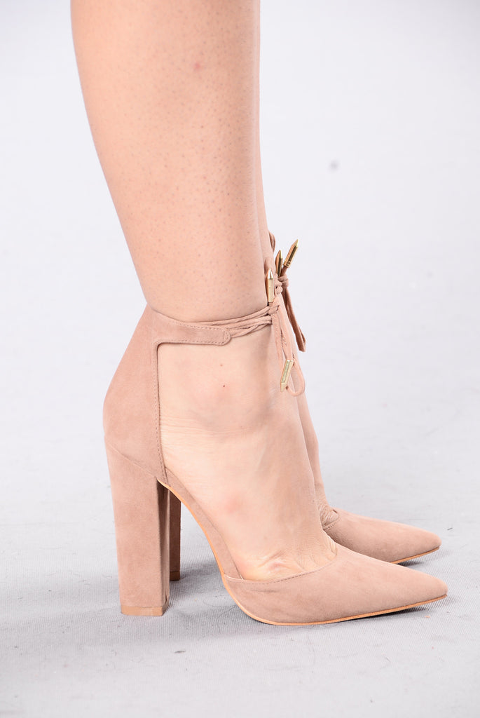 Can't Say No Heel - Taupe