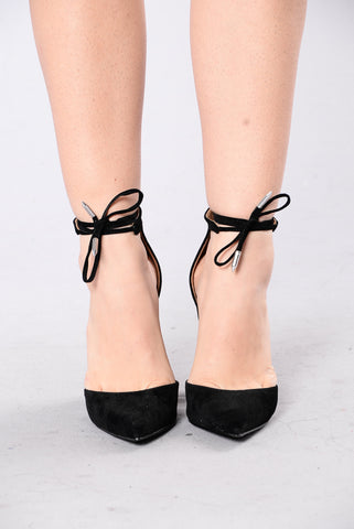 Can't Say No Heel - Black