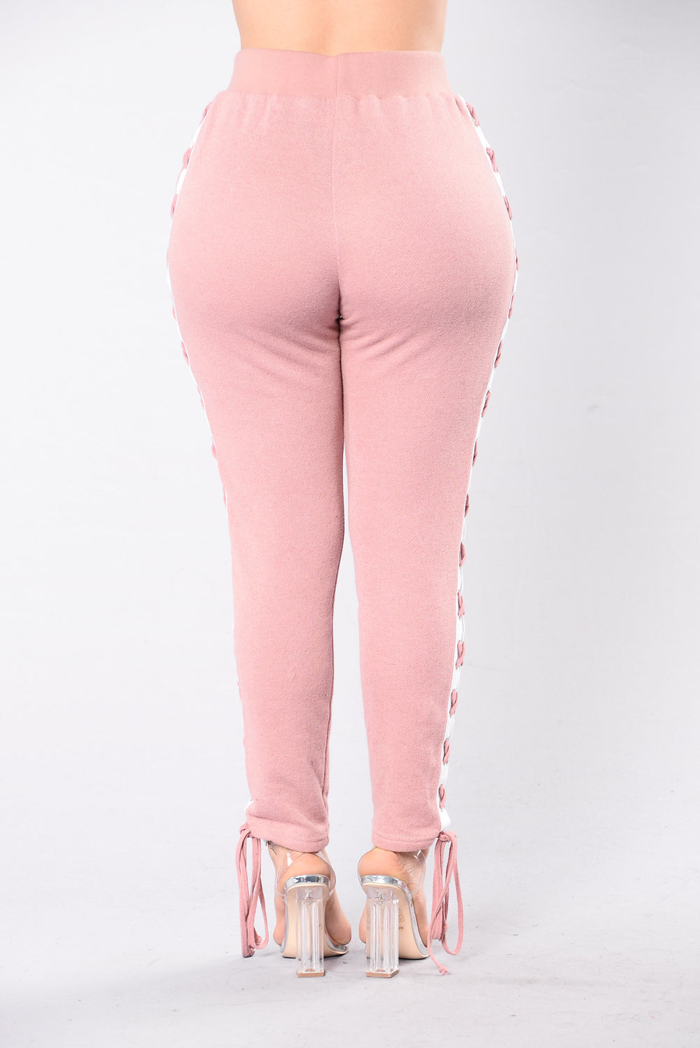 Break A Sweat Pants - Pink/White