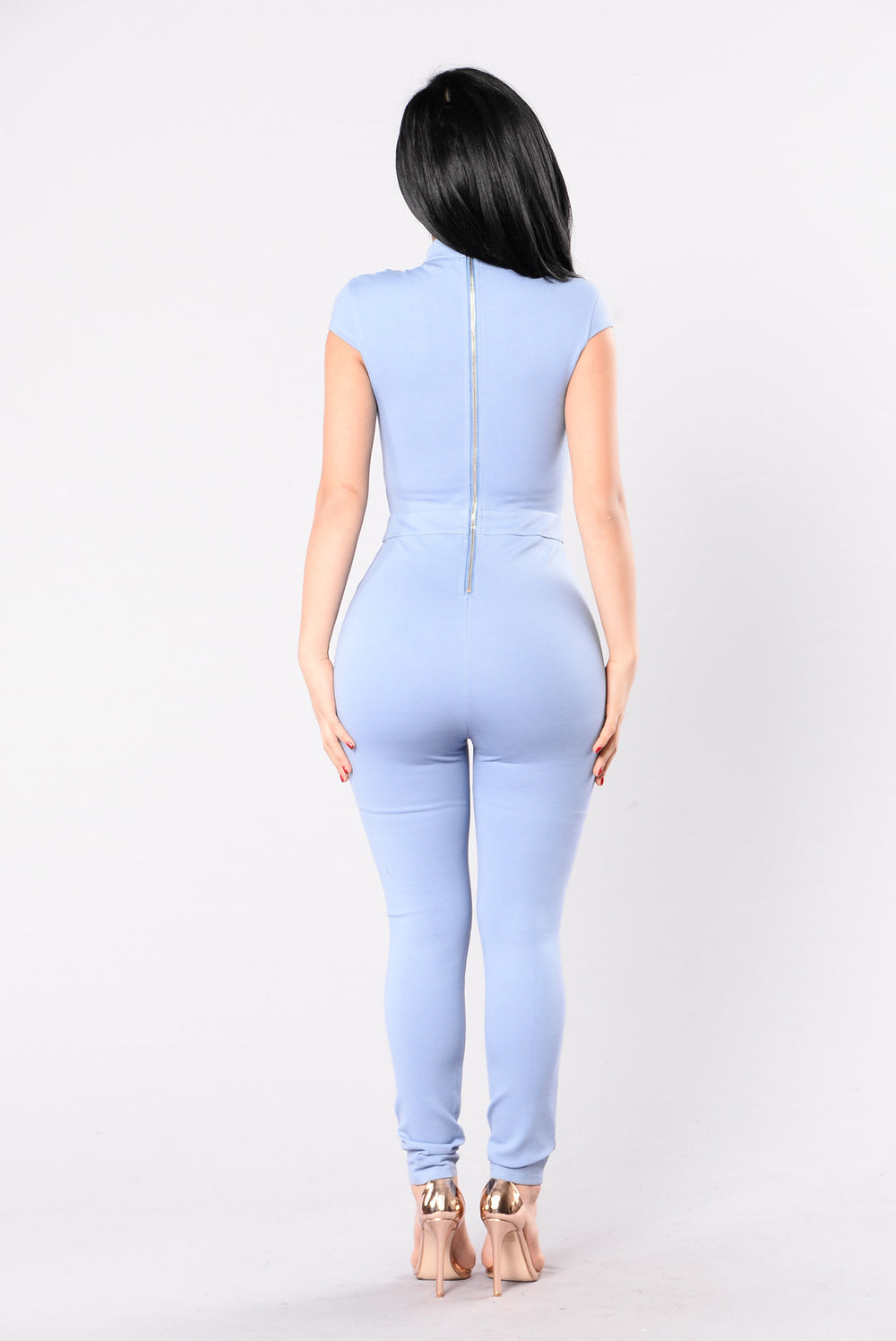 Galaxy Fantasy Jumpsuit - Denim Blue