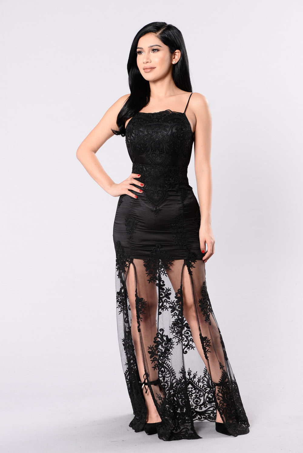 Waiting For Tonight Dress - Black