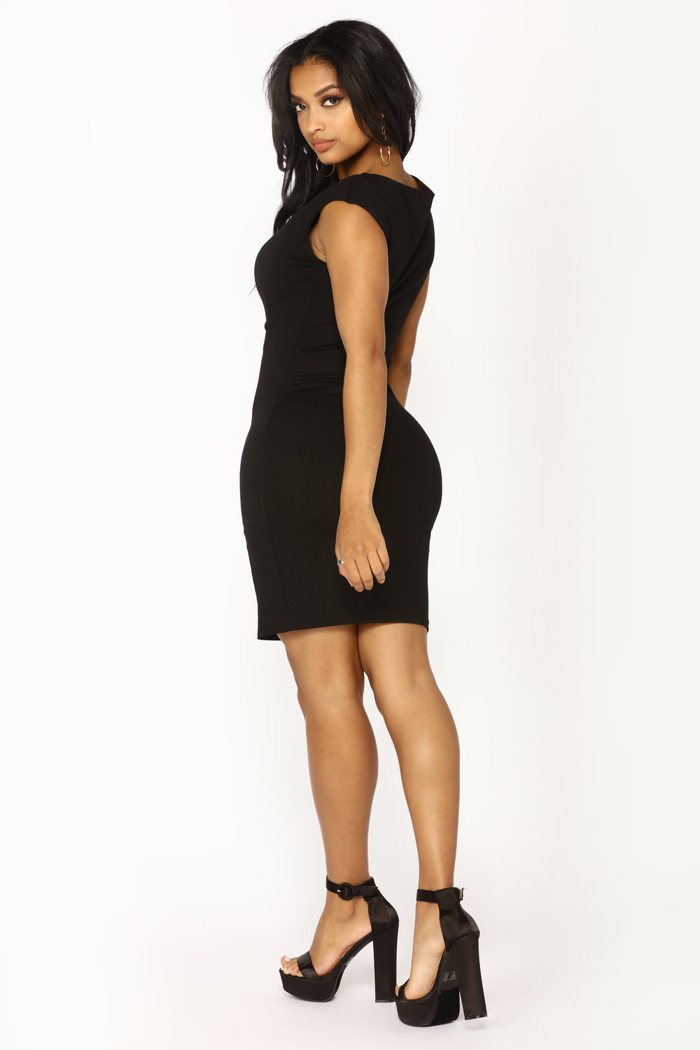 Without A Flaw Dress - Black