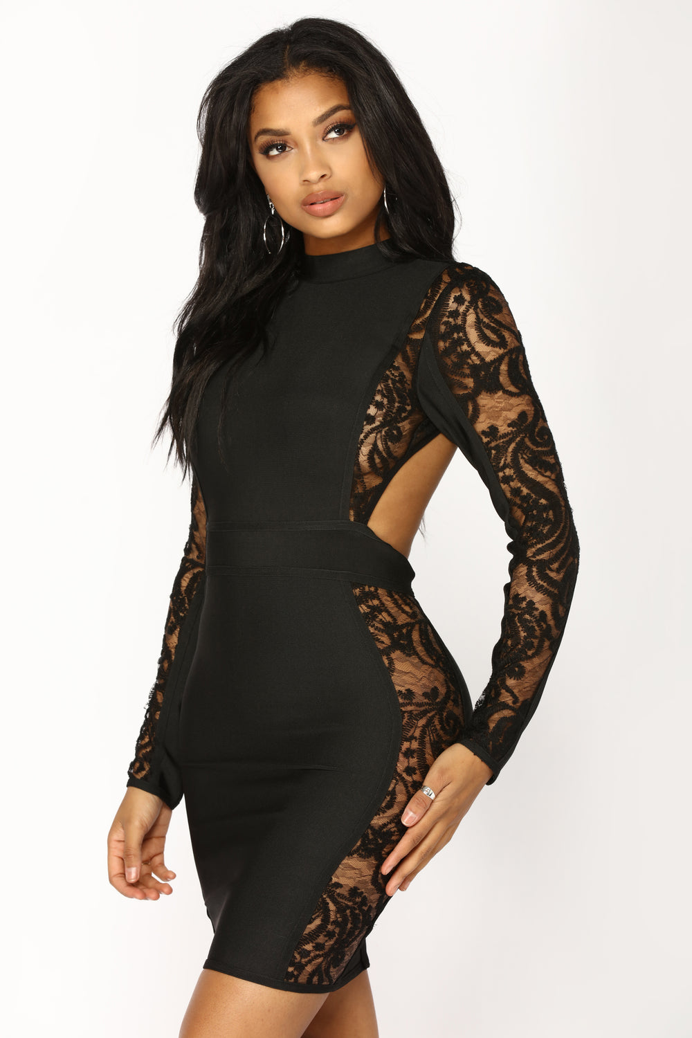 Whiskey Sour Mini Dress - Black