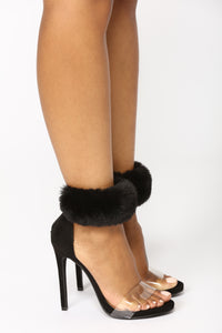 Fauxy And I Know It Heel - Black