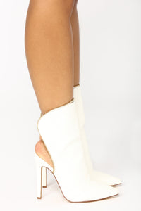 Shield Me Boot - White