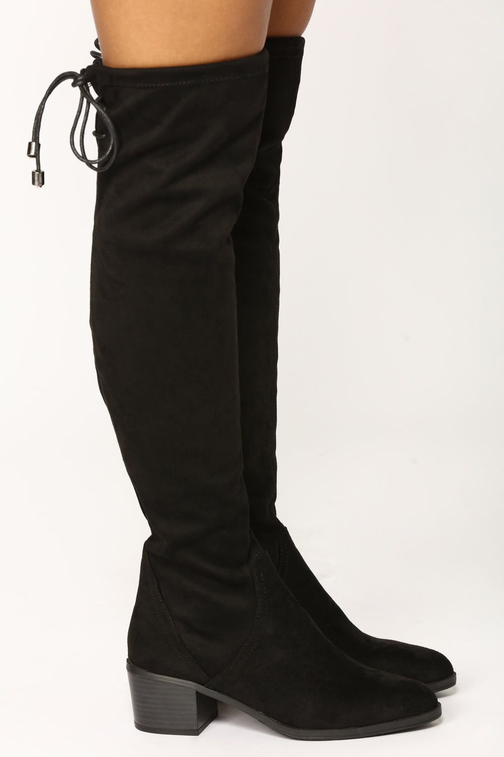 Simply Suede Boot - Black