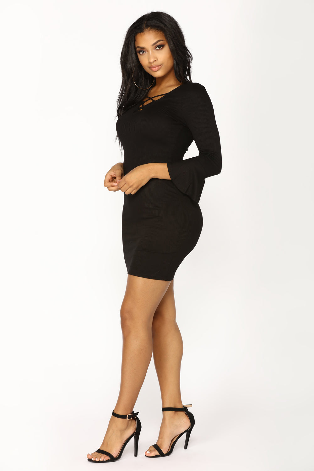 Leandra Knit Dress - Black