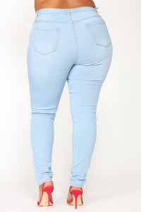 Dangerously Skinny Jeans - Light Denim