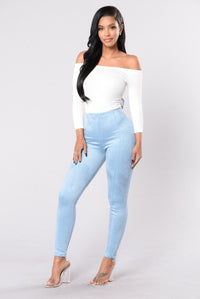 The Sophisticated Pant - Denim Blue