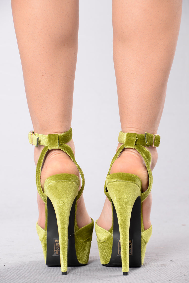 Party Girl Heel - Lime