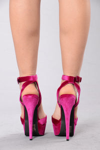 Party Girl Heel - Berry