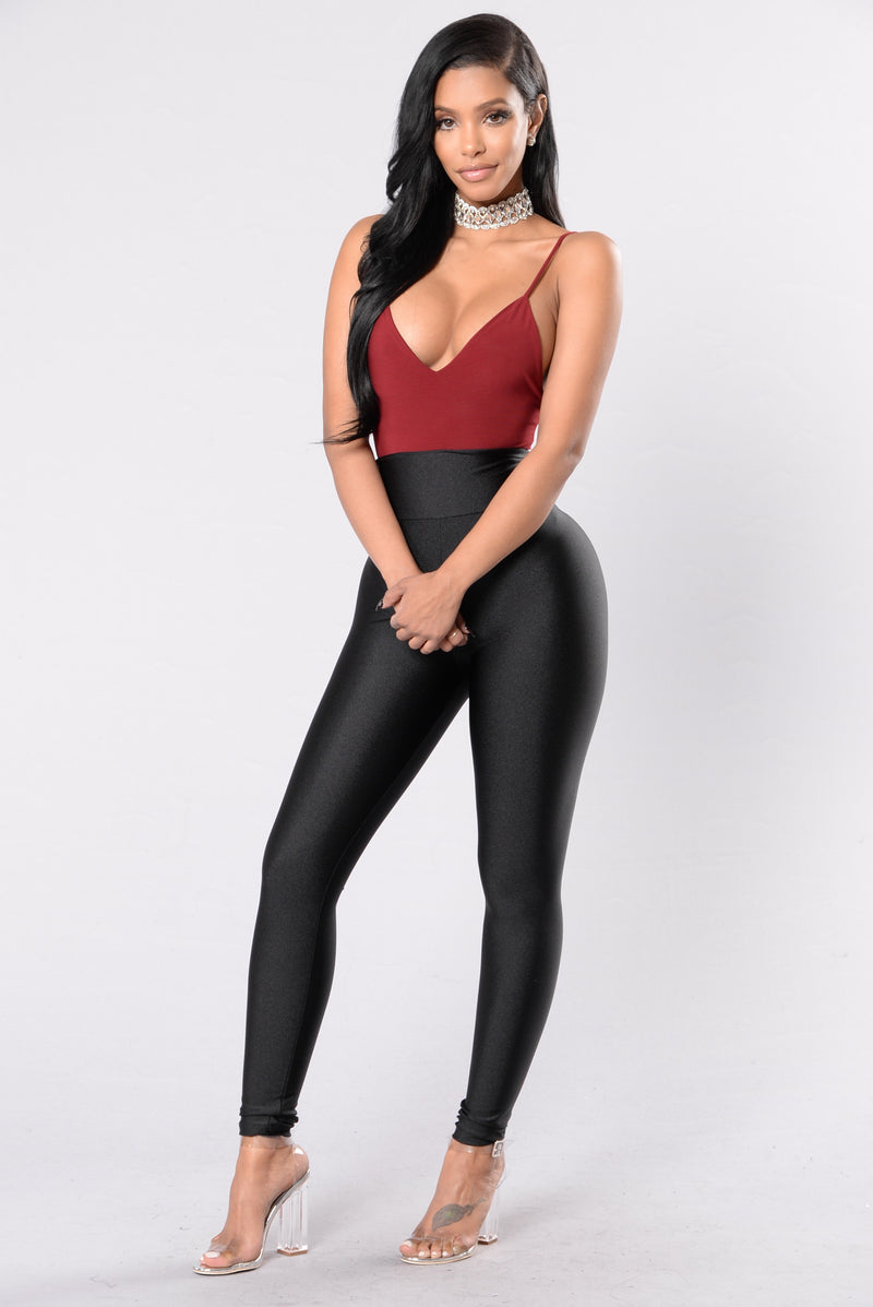 Hold On Tight Leggings - Black