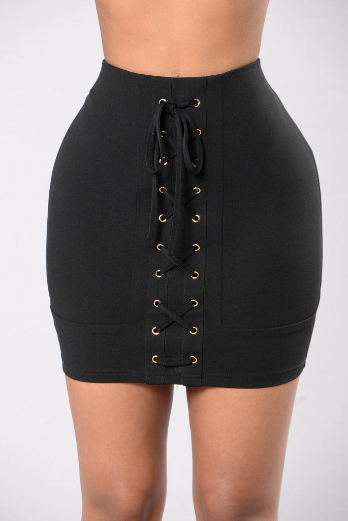Beat Of My Drum Skirt - Black