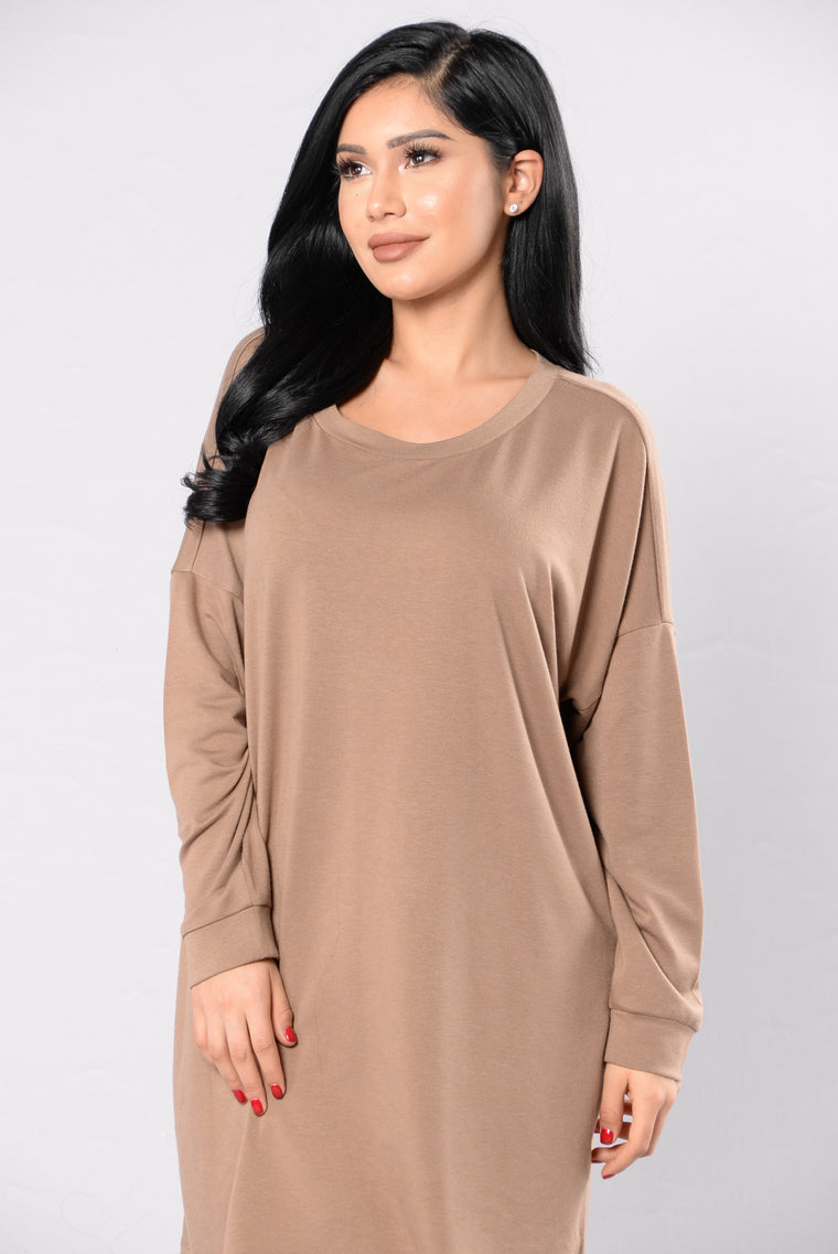 Touch The Sky Tunic - Mocha