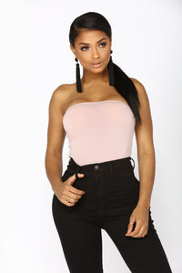 Madison Strapless Bodysuit - Mauve