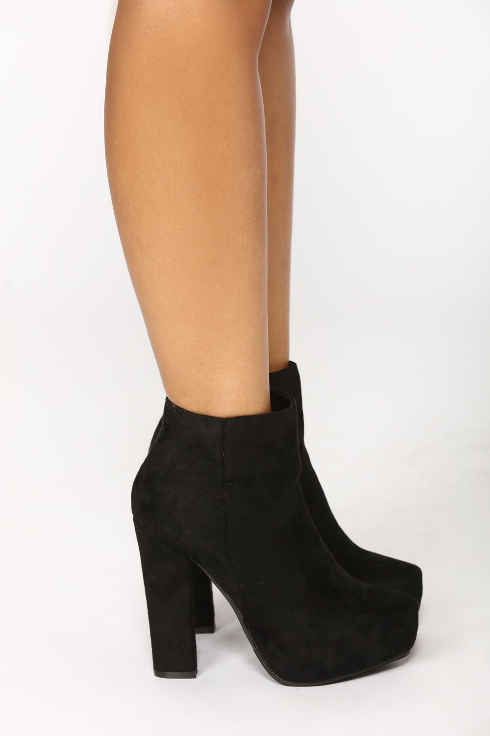 So Elevated Bootie - Black