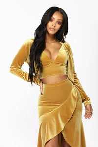 Living In Luxury 3 Piece Set - Gold