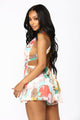 Everlasting Flower Multi Way Romper - Multi