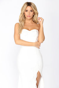 Shot At Love Maxi Dress - Ivory