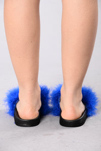Feather Weather Sliders - Royal Blue