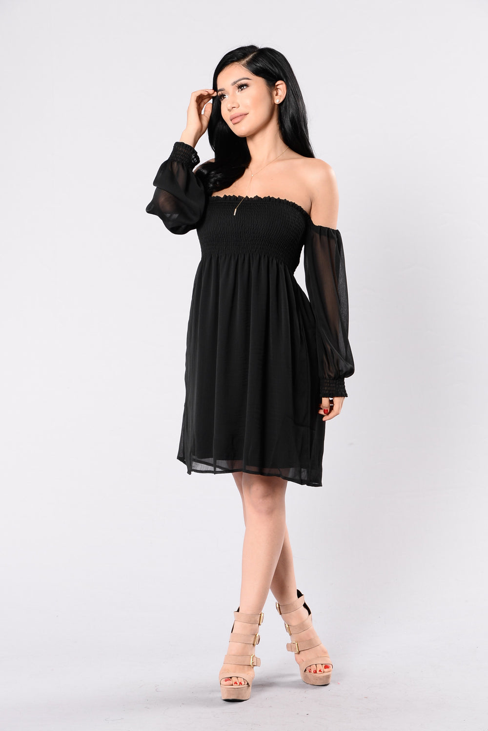 See You There Dress - Black