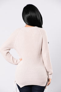 Feedback Sweater - Mauve