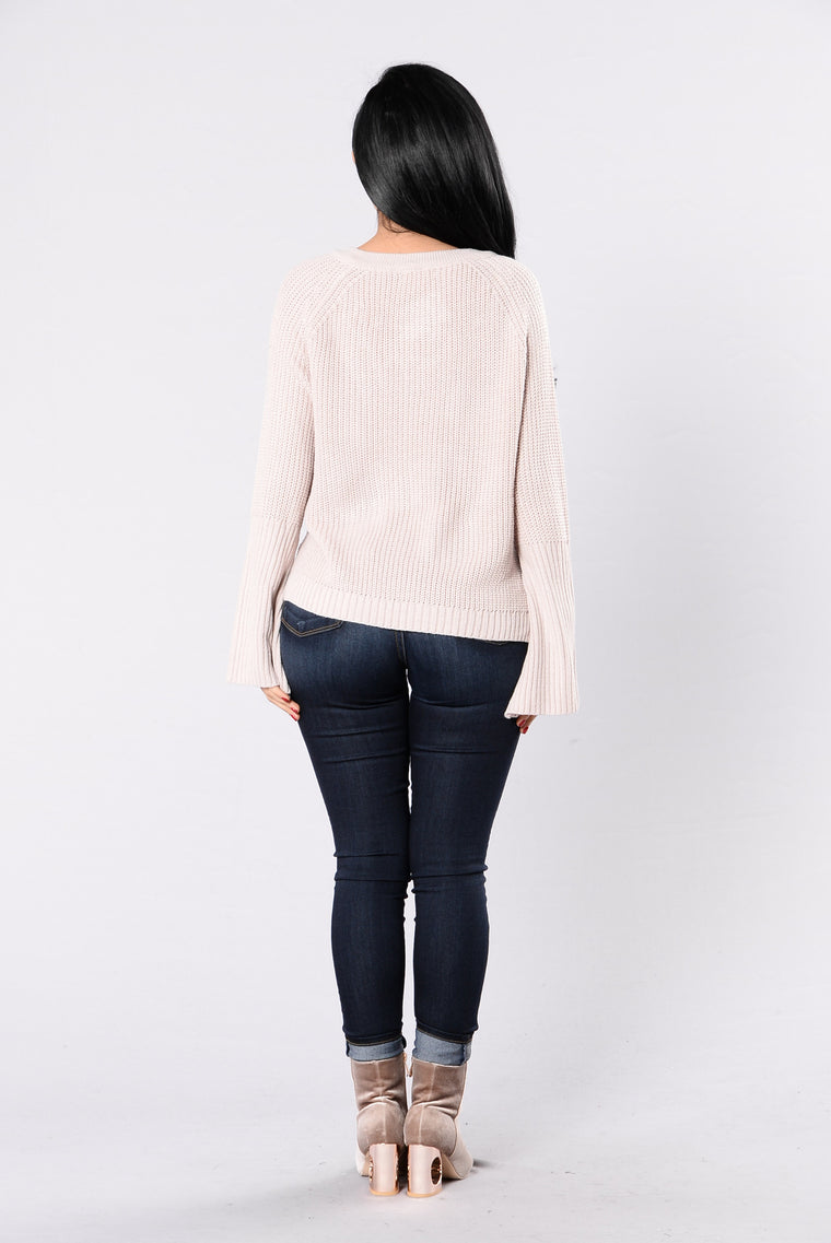Running With The Night Sweater - Mauve