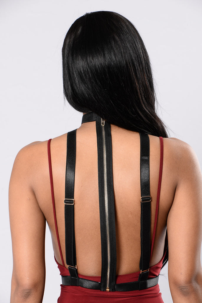 Lourdes Harness - Black