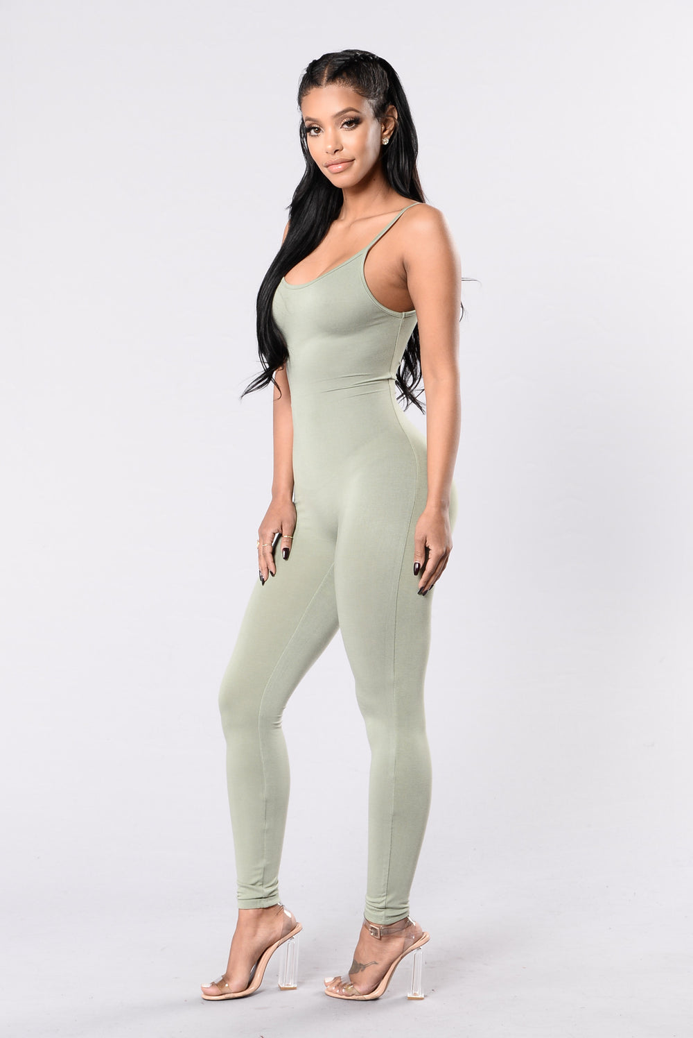 Nova Season Jumpsuit - Kale