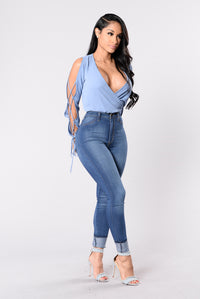 It's Only You It's Only Me Top - Denim