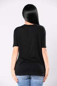 Lie For You Top - Black