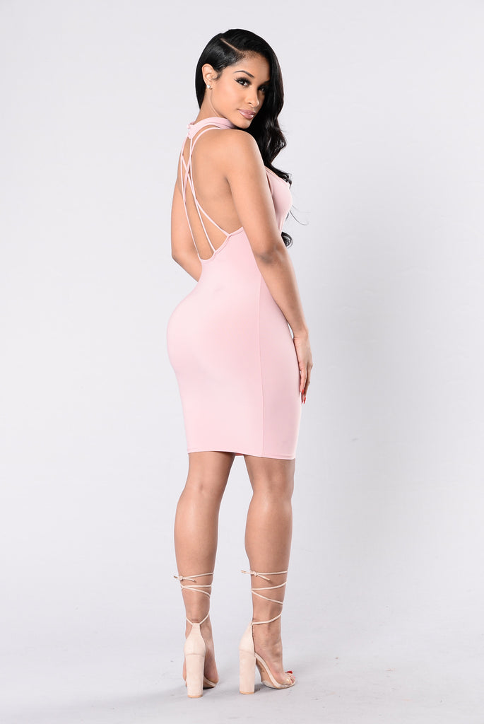 Eye Candy Dress - Mauve