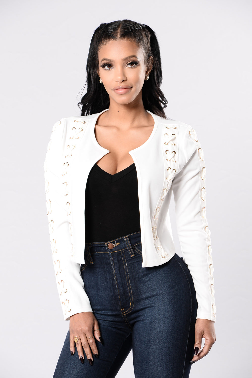 Mercy Mercy Jacket - White