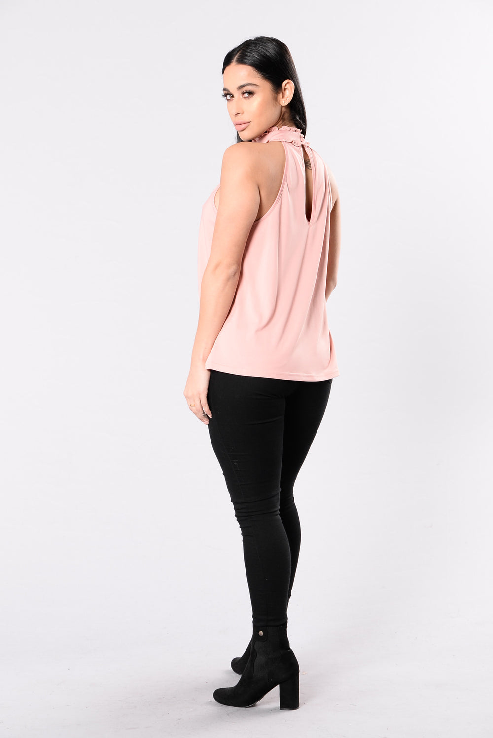 Day Dreams Top - Dusty Rose