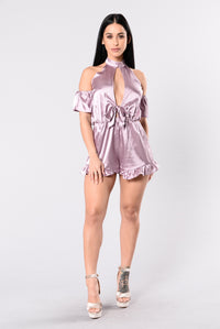 Day Dreaming Romper - Mauve
