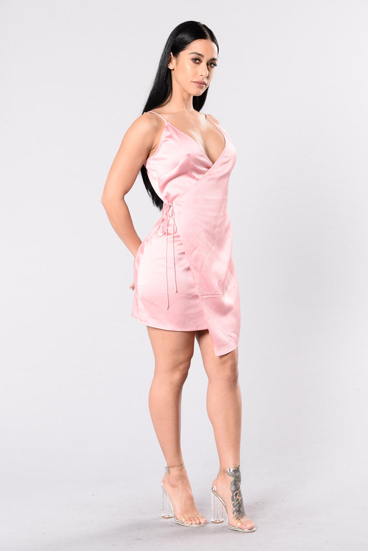 Left Hook Dress - Mauve