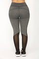 Hadley Active Leggings - Grey/Black