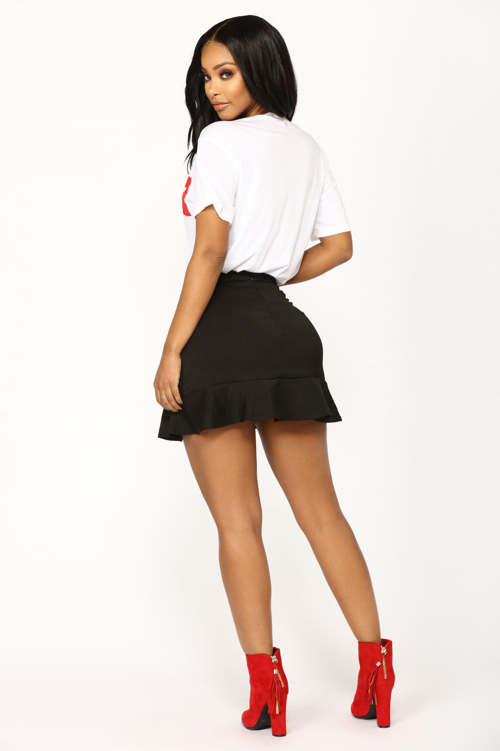 My Favorite Ruffle Skirt - Black