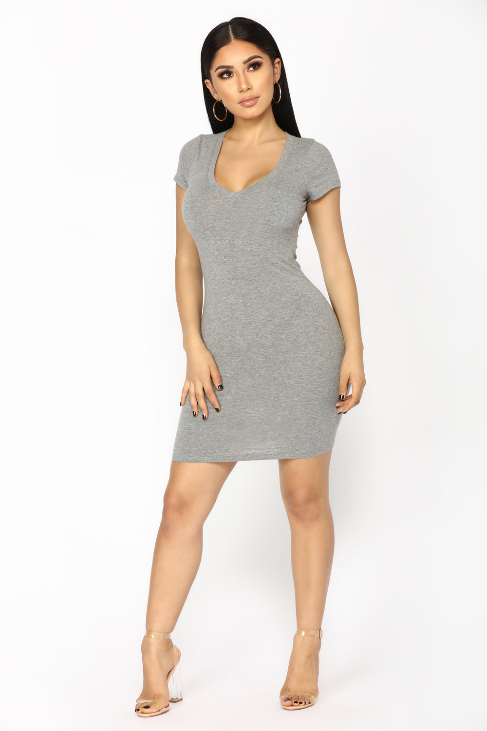 Tess Tunic - Grey